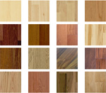 View All Products...Which wood would you like?
